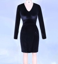 Black Bodycon Dress Mar-104