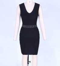 Black Bandage Dress Mar-114