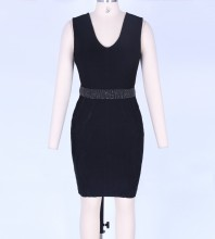 Black Bandage Dress Mar-127-S