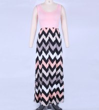 Pink Bodycon Dress Mars-272-M