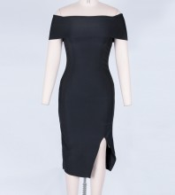 Black Bandage Dress Octs-68