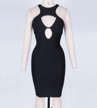 Black Bandage Dress Octs-92