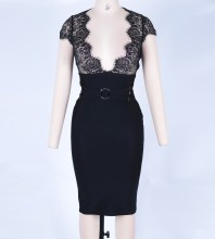Black Bandage Dress Octs-94