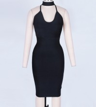 Black Bandage Dress Octs-96