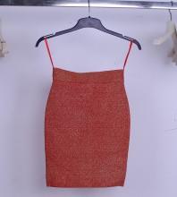 Red Rust Scrub Short Skirt Sep128S