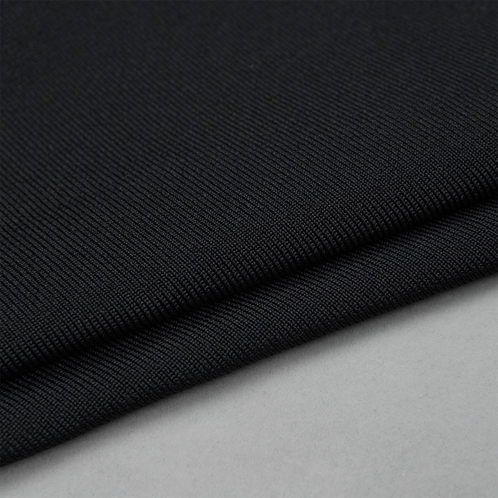 Black Off Shoulder Sleeveless V Neck Fashion Bandage Jumpsuit HM008-Black