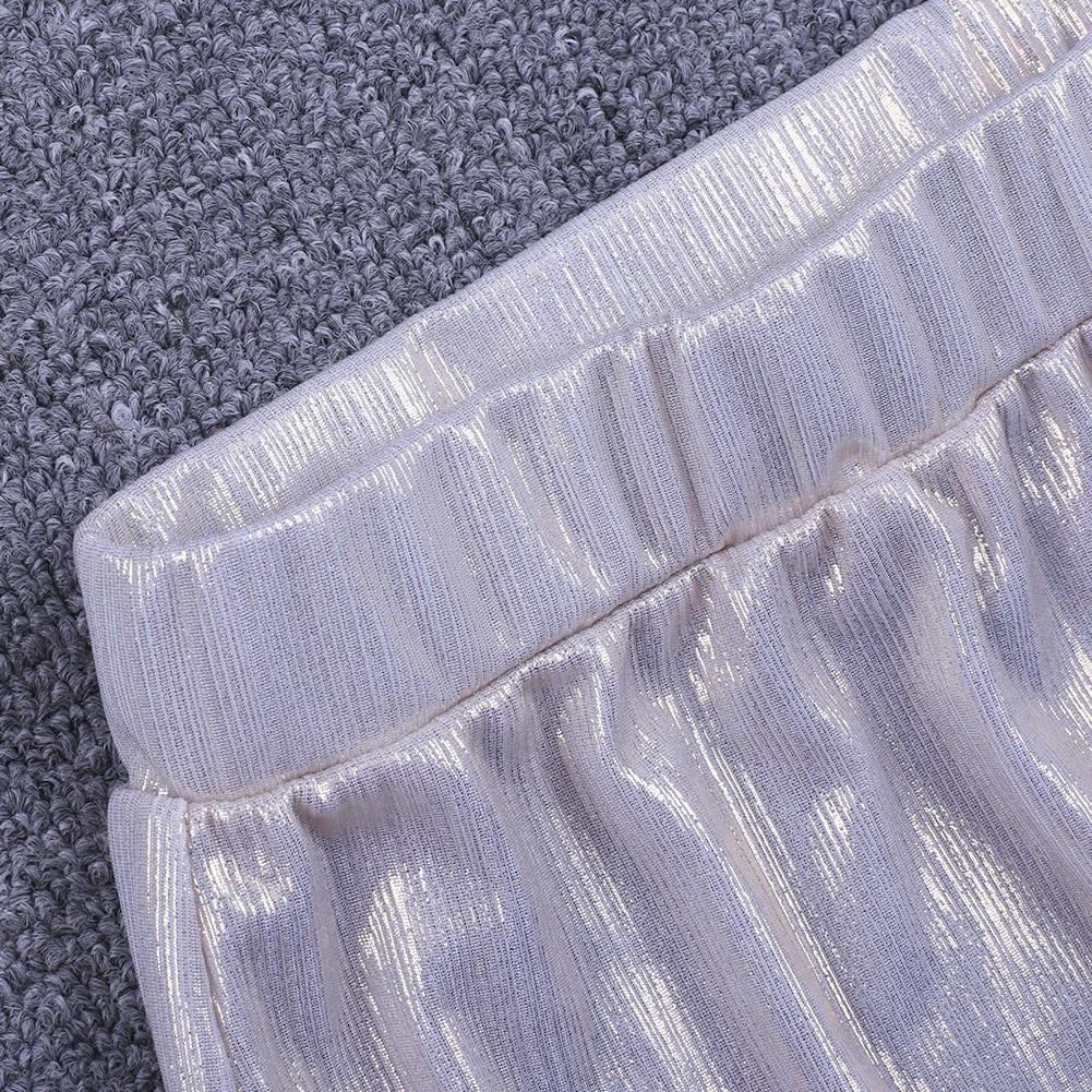 Gold Maxi Mesh Fashion Bodycon Pants FDJ002-Gold