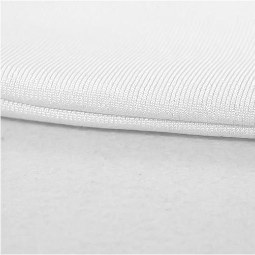 White Off Shoulder Cap Sleeve Mini Slitted Folding Top Quality Bandage Dress HB5262-White