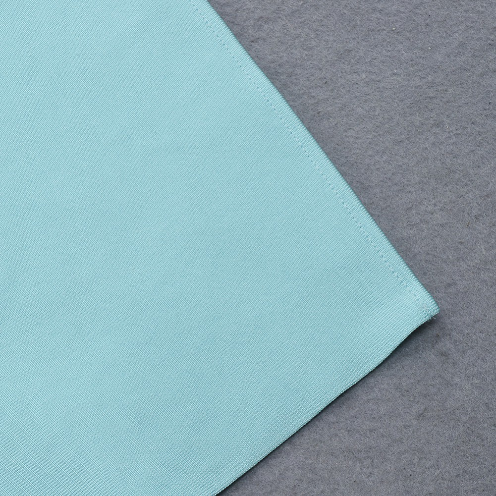 Blue Slit Exposed Waist Sleeveless Strappy Bandage Set HB7481-Blue