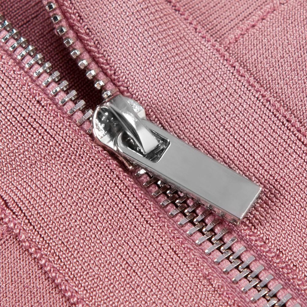 Pink Strapy Sleeveless Mini Fashion Bandage Dress  HB987-Pink