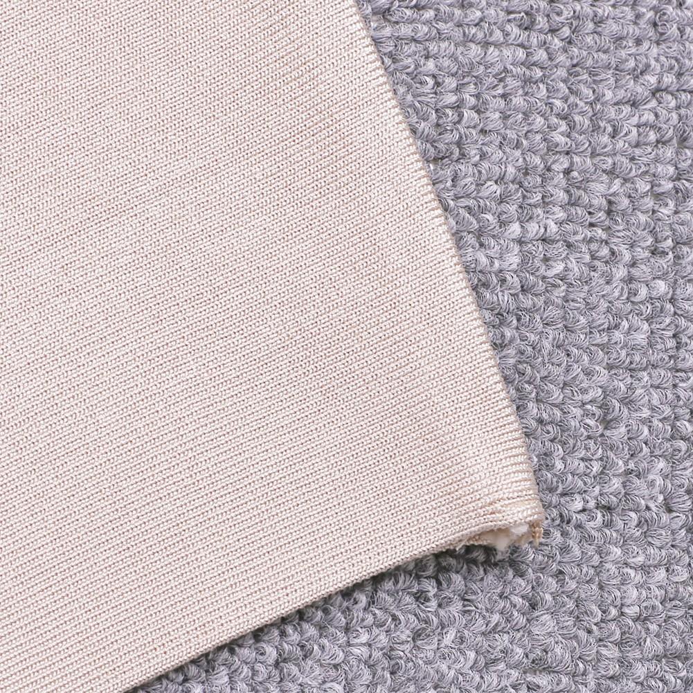 Apricot Off Shoulder Ruffled Bandage Dress HQ216-Apricot