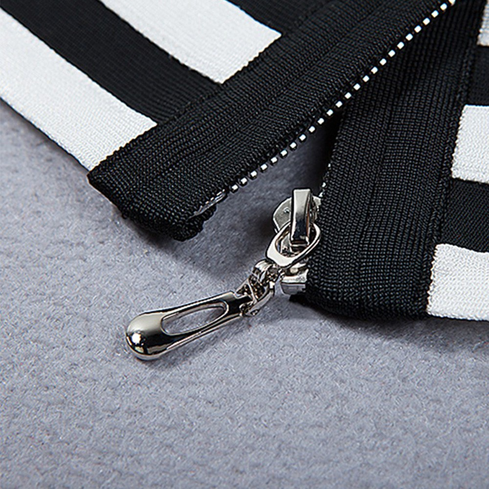 Black Strapy Sleeveless 2 Piece Fashion Bandage Jumpsuits HT0102-Black