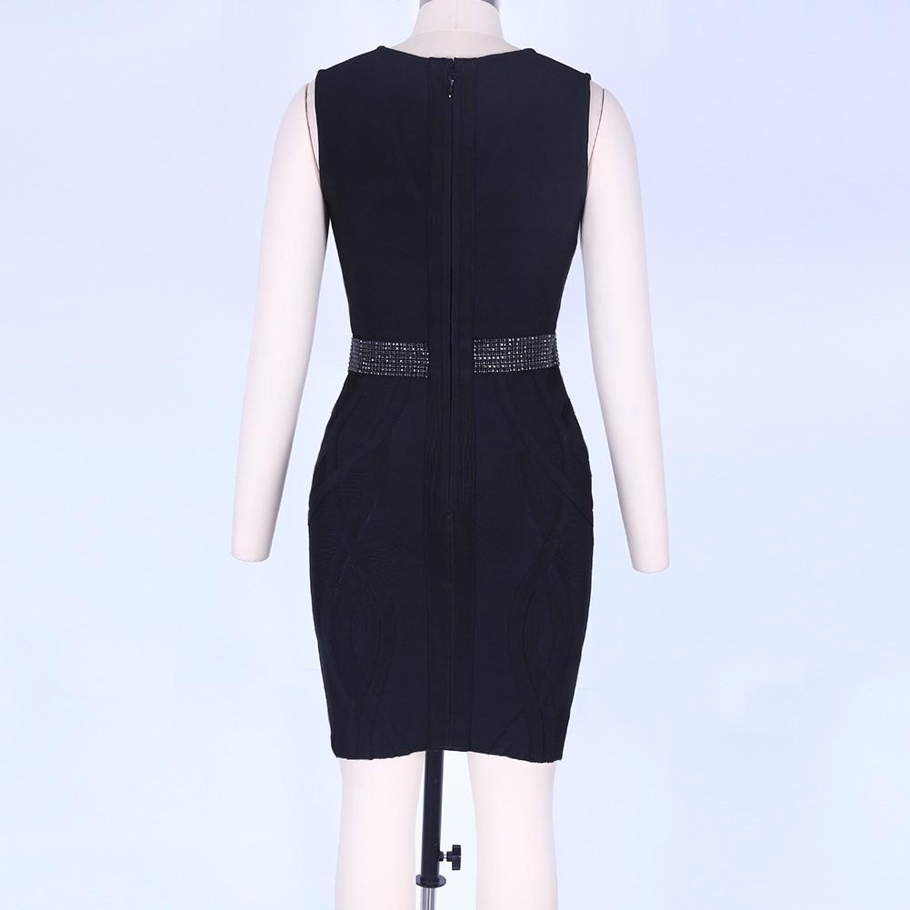 Black Bandage Dress Mar-127-S