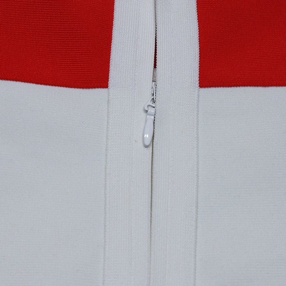 White Backless Cut Out Mini Sleeveless Strappy Bandage Dress PZC773-White