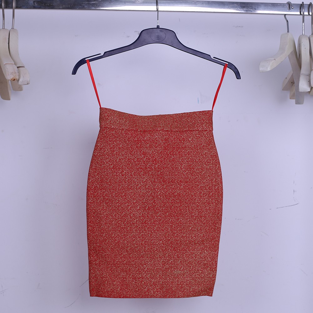 Red Rust Scrub Short Skirt Sep128S
