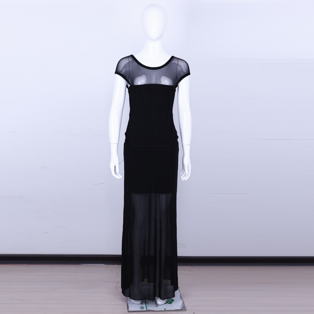 Black Long Dress Sep239M
