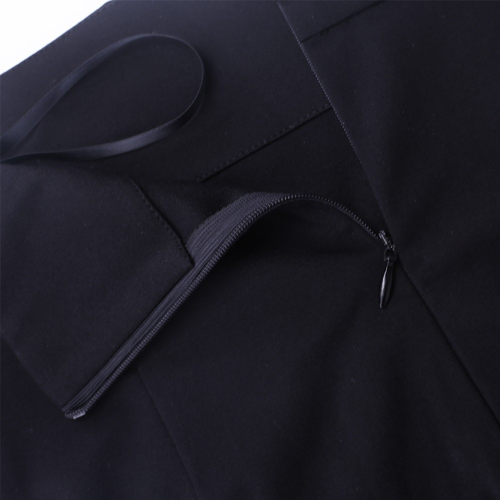 High Quality Off Shoulder 2 Piece Bodycon Set SP0380-Black