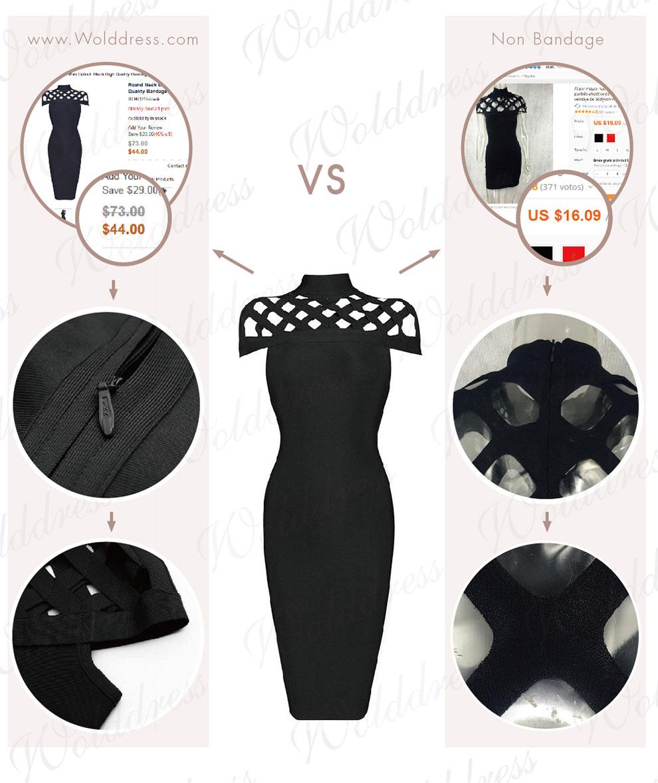 Bandage dress Quality advantage